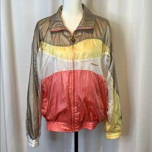 Ellesse Vintage Zip Up Windbreaker Jacket